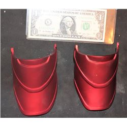 CAPTAIN MARVEL SCREEN USED BOOT ARMOR SET