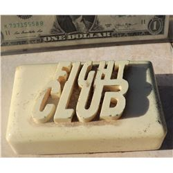 FIGHT CLUB SOAP WITH LOGO CASTING