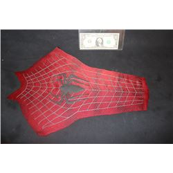 SPIDER-MAN THE AMAZING 3 CHEST PANEL WITH SPIDER GLYPH AND WEBBING 4