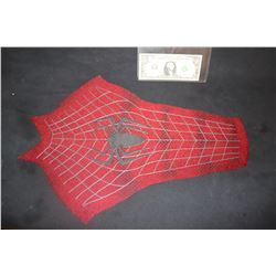 SPIDER-MAN THE AMAZING 3 CHEST PANEL WITH SPIDER GLYPH AND WEBBING 5