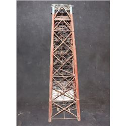 ZZ- ANTIQUE FILMING MINIATURE OIL RIG OR OLD WEST WATER TOWER FOR TRAINS