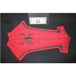 SPIDER-MAN FAR FROM HOME COMPLETE HERO CHEST PANEL WITH GLYPH LAST ONE!