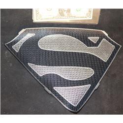 SUPERGIRL SUPERMAN CHEST GLYPH FINAL DESIGN GRAY AND BLACK VERSION