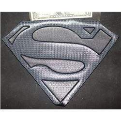 SUPERGIRL SUPERMAN CHEST GLYPH EARLY PROTOTYPE OOAK! 1