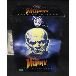 MUMMY THE RARE UNIVERSAL MONSTERS COIN BANK BRAND NEW IN THE BOX 1