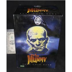 MUMMY THE RARE UNIVERSAL MONSTERS COIN BANK BRAND NEW IN THE BOX 2