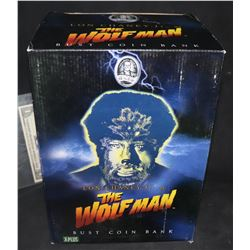 WOLFMAN THE RARE UNIVERSAL MONSTERS COIN BANK BRAND NEW IN THE BOX