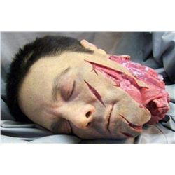 SEVERED SILICONE TORN OFF HEAD ALL HAND PUNCHED HAIRS KEEPER QUALITY GORE!