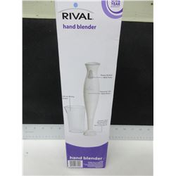 Rival Hand Blender / comes with 500ml Beaker /