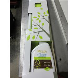 New Mirage Clean Complete Wood Floor Cleaning Kit / comes with 1 liter