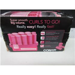 Conair Curls to Go Real easy real fast / 10 Multi size rollers