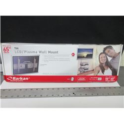 "Barkan Tilt TV Wall Mount fits up to 65"" TV's / Silver"