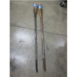 2 New TIKI Torches / no shipping on this item