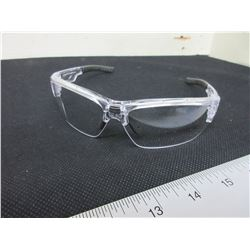 5 New Clear XP 87 Safety Glasses / msrp=60.00