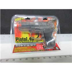 Air Soft .45 Caliber Pistol 200fps / large 70BB Magazine / Spring Power
