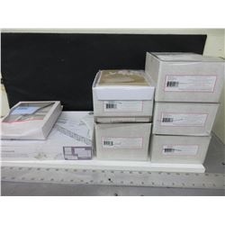 Large Bundle of New Wedding Collection Invitation Cards 5 cases of 50 ea.
