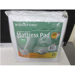 New Biddford Automatic Heated Mattress Pad Twin / auto shut off machine wash