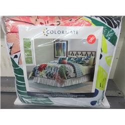 Colormate Twin Complete Bed Set 6 piece