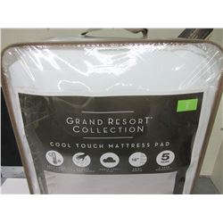 Grand Resort Collection Cool Touch Mattress Pad /  Full