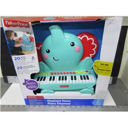 New Fisher Price Elephant Piano / 20 demo songs and lot's more