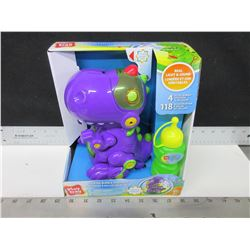 New Walking Bubble Dinosaur / comes with Bubble solution / Light & Sound