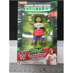 New Teenage Mutant Ninja Turtles WW Superstars Rowdy Roddy Piper
