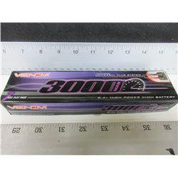 New VENOM RC Battery 7 cell flat pack 3000 8.4v high power NIMH Battery
