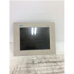 SIEMENS SCD 1597-E1 TOUCH SCREEN OPERATING MODULE
