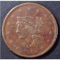 1840 LARGE CENT AU