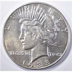 1935-S PEACE DOLLAR   BU