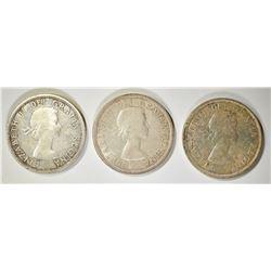 3-1959 CANADA DOLLARS CH BU+