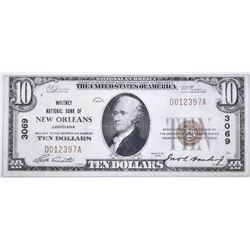 1929 $10 WHITNEY NATIONAL BANK OF NEW ORLEANS