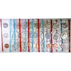 1964 & 4-1969 U.S. UNC SETS IN ORIG CELLO PACKS