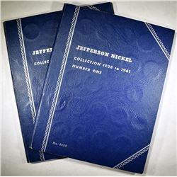 2-1938-1961 CIRC JEFFERSON NICKELS SETS