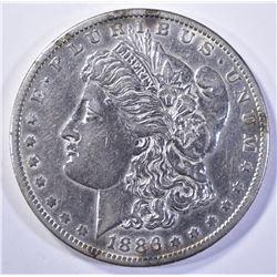 1886-O MORGAN DOLLAR, AU+
