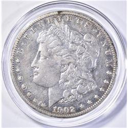 1902-S MORGAN DOLLAR, AU
