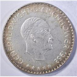 1952 EISENHOWER TOKEN  LIBERTAS EUROPA