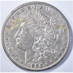 1883-S AU MORGAN DOLLAR