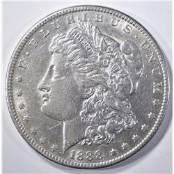 1888-S MORGAN DOLLAR  AU/BU