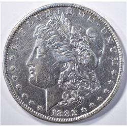 1882-CC MORGAN DOLLAR   XF  CLEANED