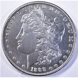 1888-S MORGAN DOLLAR, CH BU