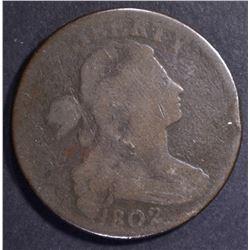 1802 DRAPED BUST MATRON HEAD G