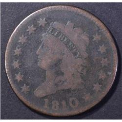 1810 LARGE CENT VG