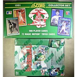1991 BASEBALL COLLECTOR SET & 1992