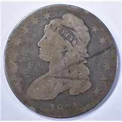 1934 BUST HALF DOLLAR, GOOD