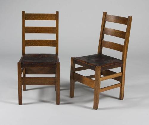 Marvelous Gustav Stickley Dining Table And 6 Chairs Alphanode Cool Chair Designs And Ideas Alphanodeonline