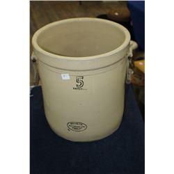 Medalta Potteries Crock - #5 - No Lid