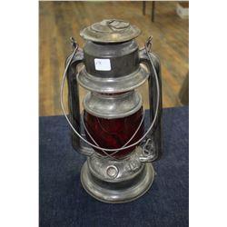 E.T. Wright Ltd. No. 4 CB Lantern with Red Globe
