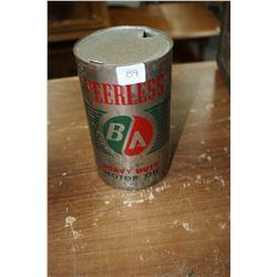 Peerless B/A Heavy Duty Motor Oil Can