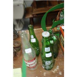 4 Bottles - Wynola Cola, 2 Way, 7 Up and Geneva